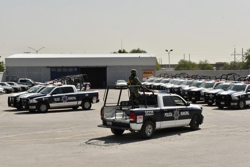 El programa Centinela S.O.S. fue presentado por las autoridades en las instalaciones de la Dirección de Seguridad Pública Municipal. El jefe de la Policía Municipal aclaró que es una medida adicional de mejora a las acciones de vigilancia. (ÉRICK SOTOMAYOR)