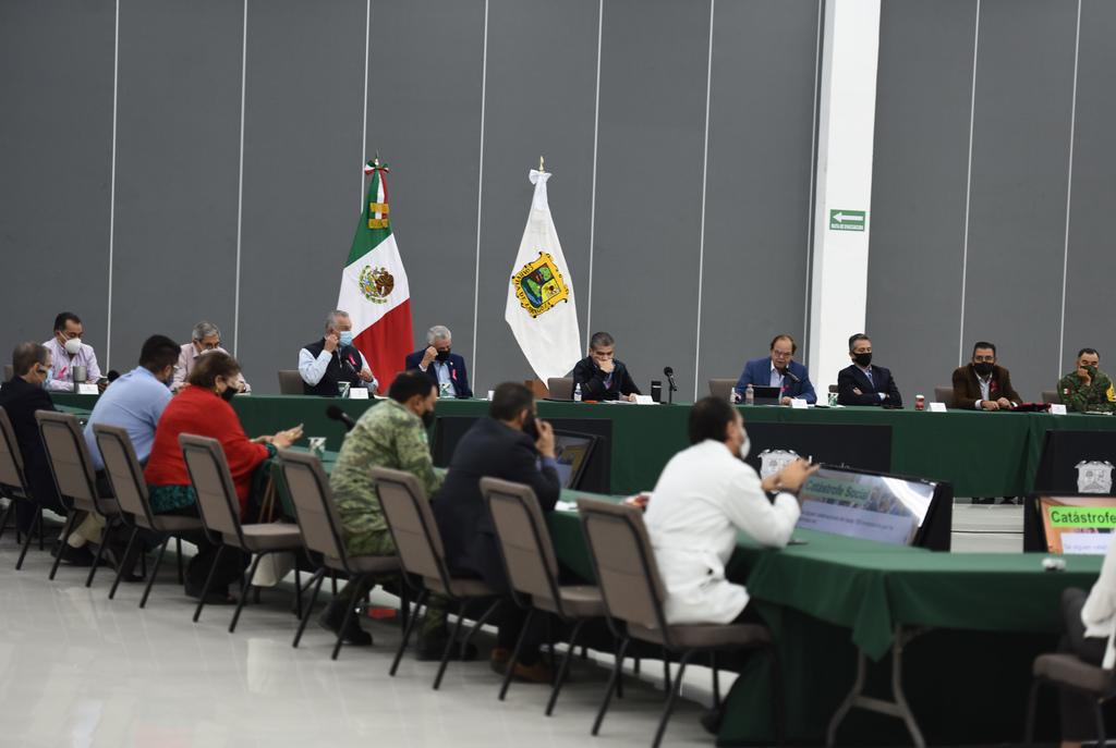 El Subcomité Técnico de Salud en La Laguna sesionó ayer para revisar el tema del repunte de contagios de COVID-19 en la región. (JESÚS GALINDO)