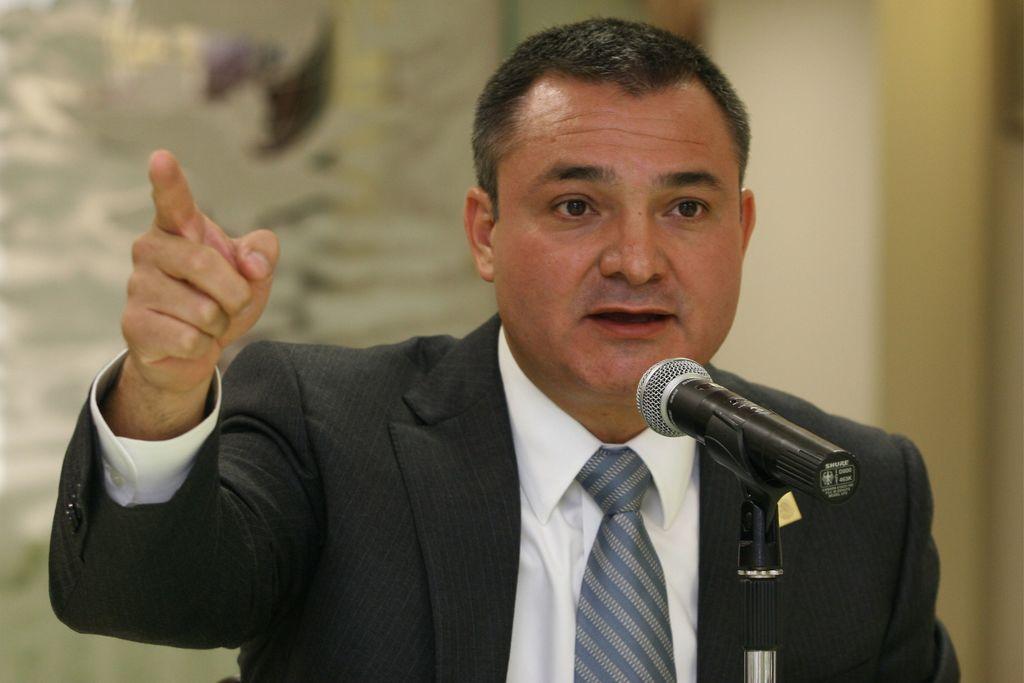 Personaje. En diciembre de 2019, Genaro García Luna fue detenido en Estados Unidos acusado de narcotráfico y falsas declaraciones. (ARCHIVO)