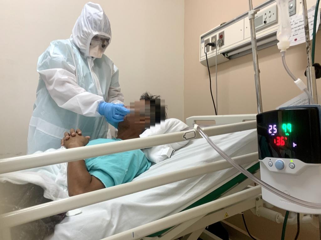 Hasta ahora Coahuila reporta 573 pacientes hospitalizados en las cinco regiones; La Laguna acapara la mayor incidencia. (EL SIGLO DE TORREÓN)