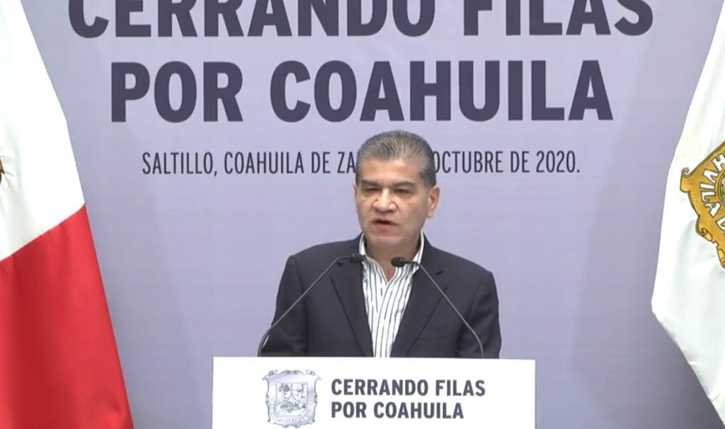 Riquelme advirtió que agotarán todas las vías, incluyendo las jurídicas, ante tales acciones de la Federación. (ESPECIAL)