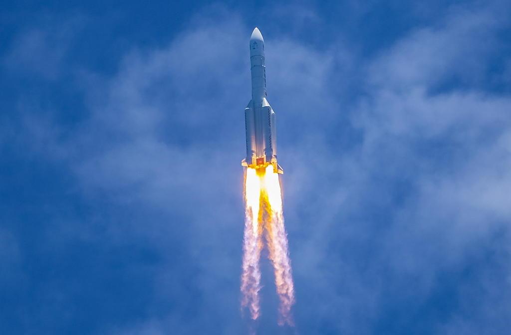 La sonda china Tianwen-1, lanzada desde el sur de China el pasado 23 de julio, llegará a Marte en mayo de 2021, informó la Administración Nacional del Espacio de China (ANEC). (ARCHIVO)