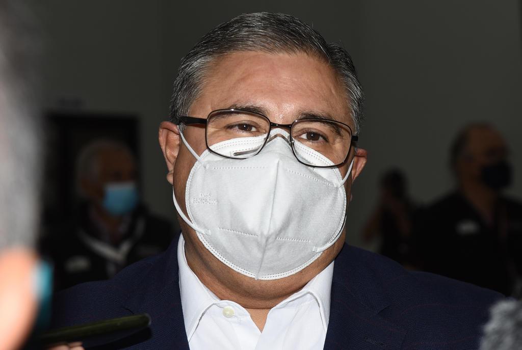 El secretario del Ayuntamiento de Torreón, Sergio Lara Galván, informó que tras la reunión de la Mesa Operativa derivada del Subcomité Regional de Salud por la pandemia de COVID-19 se determinó una serie de medidas respecto a labores de inspección y supervisión. (EL SIGLO DE TORREÓN)