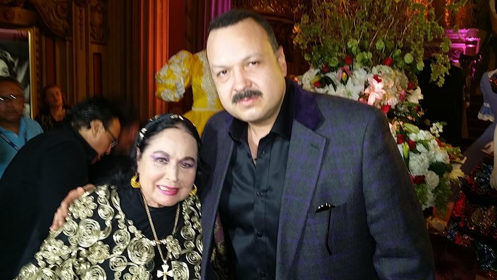 La viuda de Don Antonio Aguilar y mamá del cantautor mexicano Pepe Aguilar, Flor Silvestre, falleció este miércoles a los 90 años de edad.(ESPECIAL)
