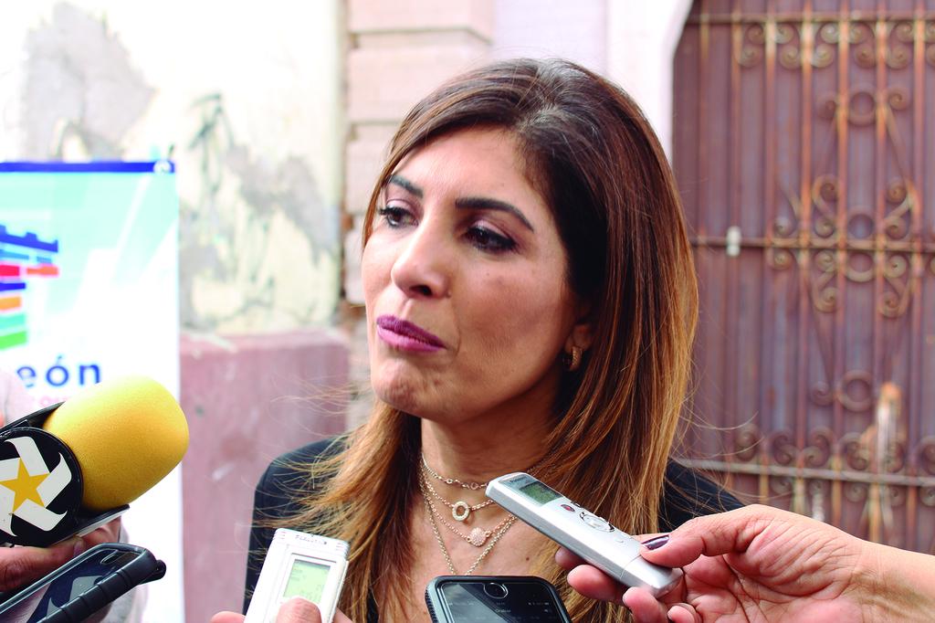 Informe. Ana Sofía García Camil rindió su informe de actividades ante integrantes del Congreso de Coahuila.