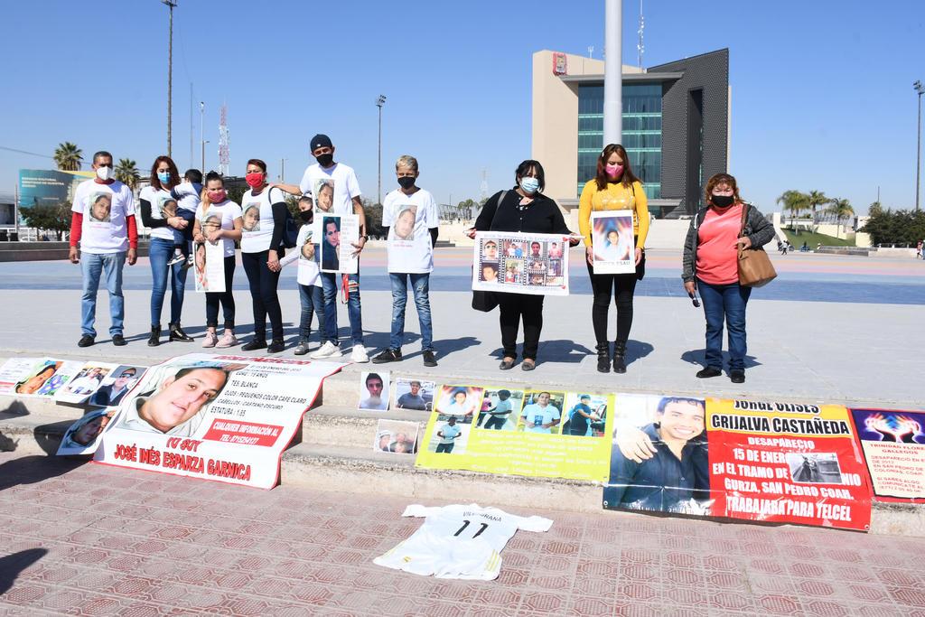 Este viernes se cumplieron 9 años de la desaparición de un grupo de cinco jóvenes que un domingo 15 de enero de 2012 habían terminado su jornada laboral como arlequines en San Pedro de las Colonias, Coahuila. (FERNANDO COMPEÁN)