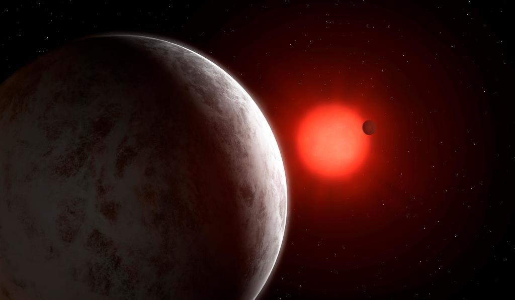 Como parte de la misión Kepler de la NASA se han podido descubrir miles de planetas desde 2009; sin embargo, uno, el KOI-5Ab se dejó de lado debido a que era muy complicado de estudiar, aunque ahora que se ha retomado la investigación de este mundo es que circunda una estrella en un sistema triple. (ARCHIVO)