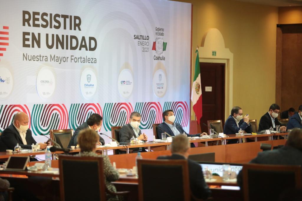 Los gobernadores que integran la Alianza Federalista se reunieron ayer en Saltillo para analizar las acciones a implementar durante esta pandemia, así como el proceso de compra de las vacunas anunciado por la Federación.  (EL SIGLO DE TORREÓN)