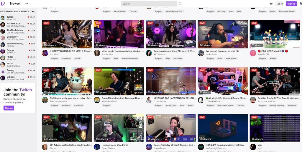 Twitch se ha convertido en la plataforma que más terreno y popularidad ha ganado en los últimos años en internet; el portal, que se hizo popular en la retransmisión de partidos de videojuegos, alcanza ya a todos los sectores y se presenta como un actor fundamental de 2021. (ARCHIVO)