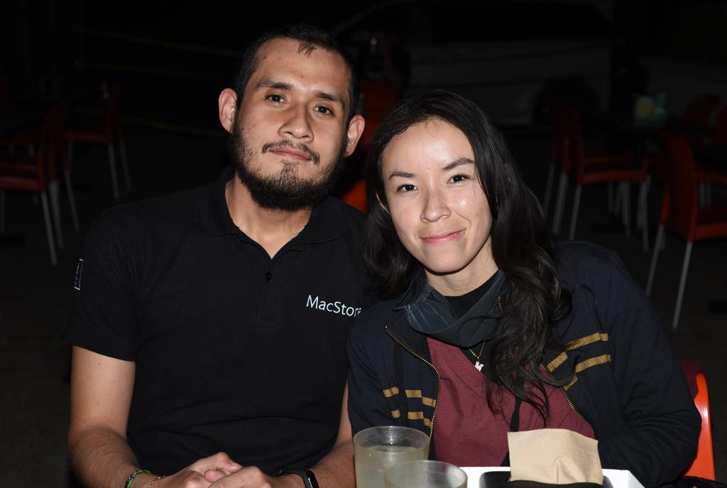 María Romero y Ricardo Castillo. (EL SIGLO DE TORREÓN / Jesús Galindo López)