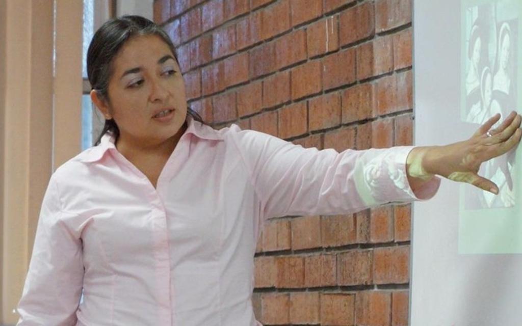 Pedagoga. Para Paola Carrillo, el maestro musical debe tener solidez en su formación.