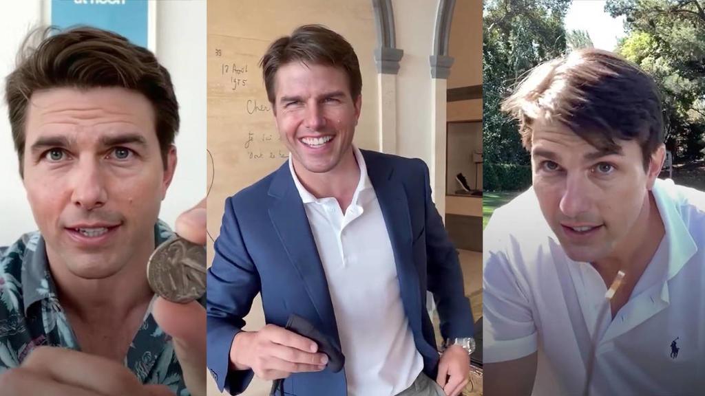 Una serie de vídeos en los que un impostor se hace pasar por Tom Cruise con ayuda de la técnica hiperrealista
