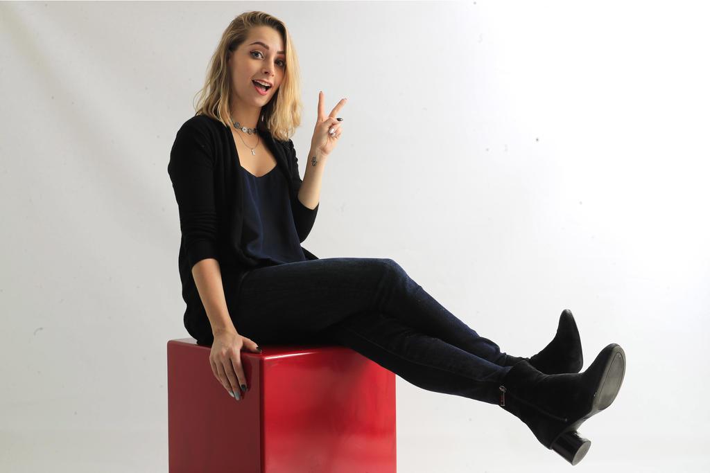 La youtuber Yoseline Hoffman, conocida como YosStop, fue demandada por los delitos de pornografía infantil cometidos en contra de una joven. (ARCHIVO)