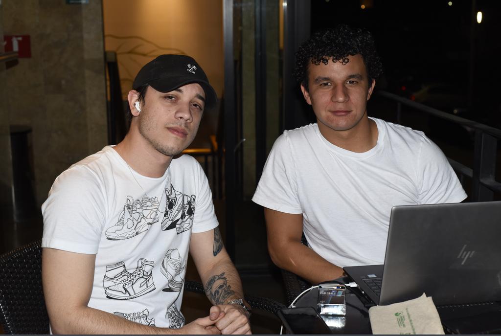 José Orona y Andrés Buchanan. (EL SIGLO DE TORREÓN / Jesús Galindo López)