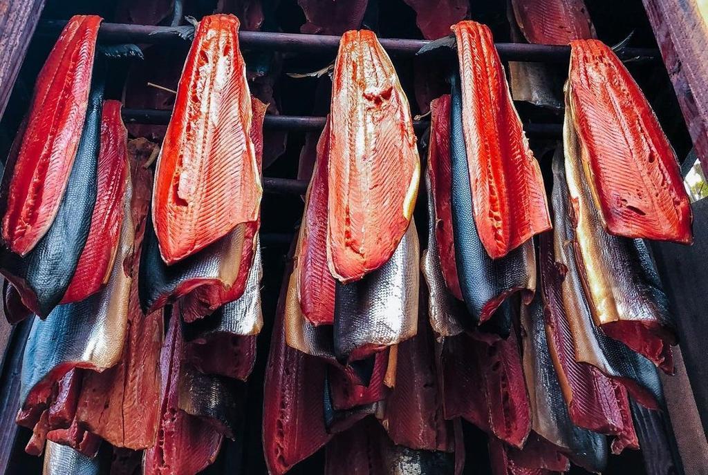 Su color rojo lo distingue de los demás tipos de salmón. (INSTAGRAM / @theknottycrew)