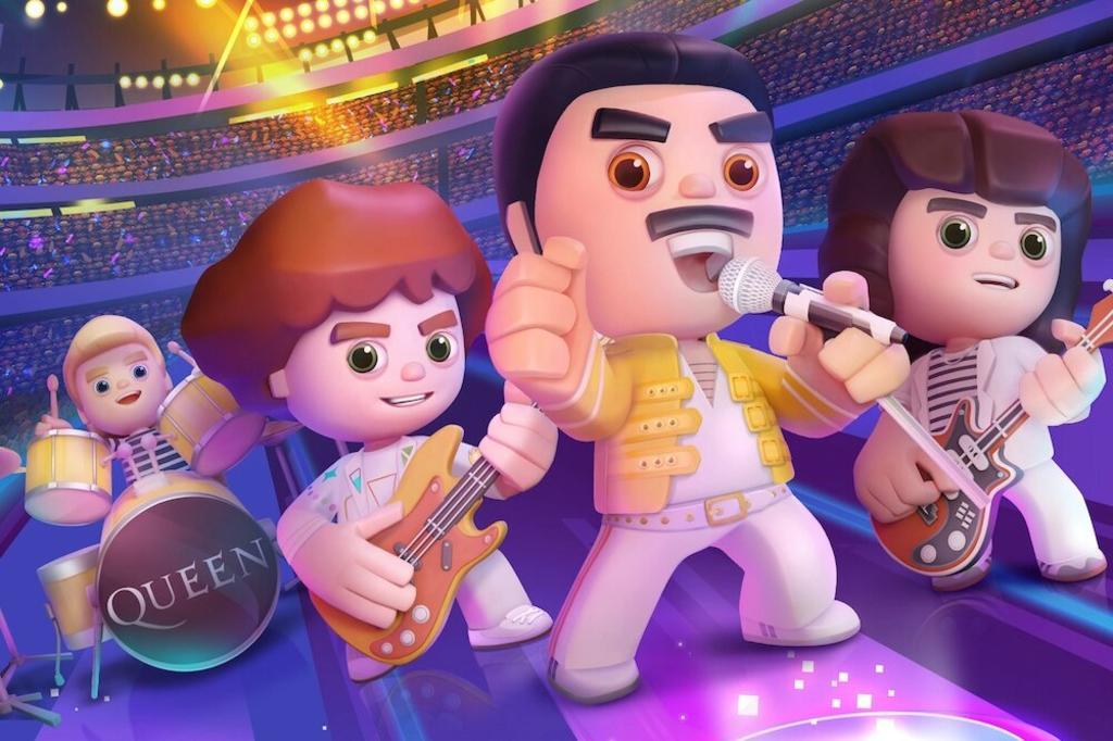 Queen: Rock Tour es el nombre del nuevo videojuego exclusivo para móviles que permitirá al usuario sumergirse en el mundo de esta emblemática banda británica de rock, interpretar sus grandes éxitos, tocar con ellos y hasta jugar a ser por un momento el mismísmo Freddie Mercury. (ESPECIAL)