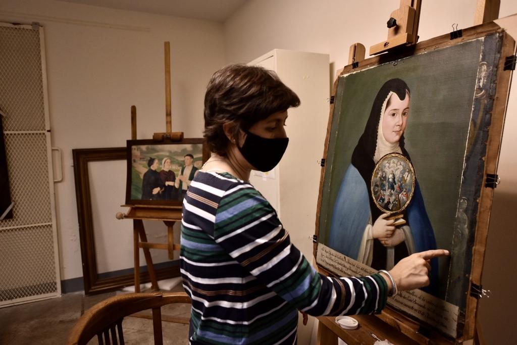 Oficio. La restauración de obras artísticas debe ser un proceso invisible que respete la creación.