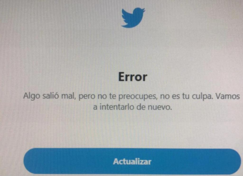 Este sábado por la mañana se reportó que el servicio de la red social era intermitente y con algunas fallas. (ESPECIAL)