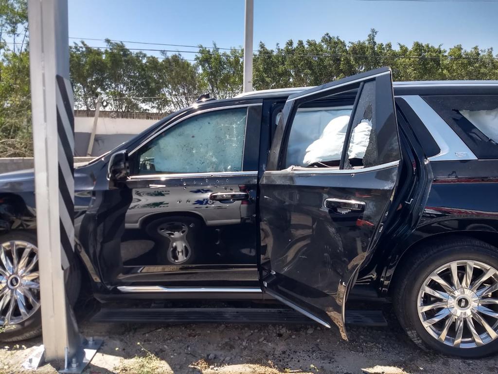 La mañana de este sábado en San Juan de Ocotán en Zapopan, Jalisco, fueron víctimas de un atentado con armas de fuego el presunto hermano de Alfredo Olivas y su familia. (Especial)