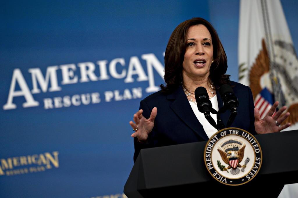 La vicepresidenta de Estados Unidos, Kamala Harris, viajará este próximo mes de junio a México y a la región centroamericana, según informó este miércoles a Efe una fuente de la Casa Blanca. (EFE)