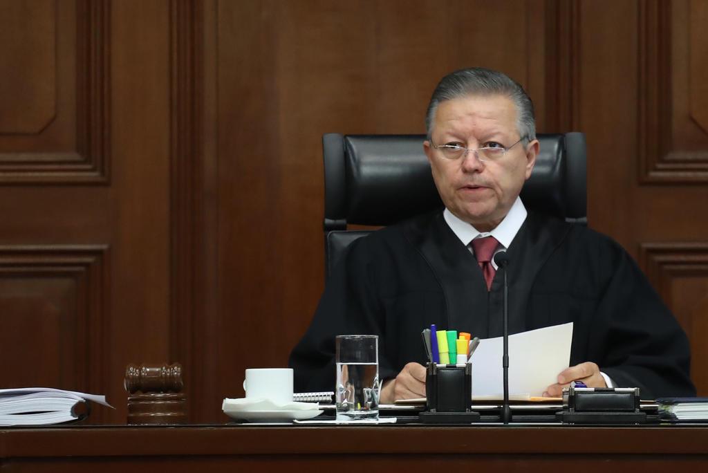 Zaldívar indicó que ejercerá el cargo de presidente de la SCJN y del CJF