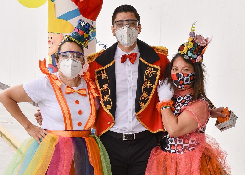 Nancy, Hugo y Carmelita. (EL SIGLO DE TORREÓN / Erick Sotomayor Ruiz)