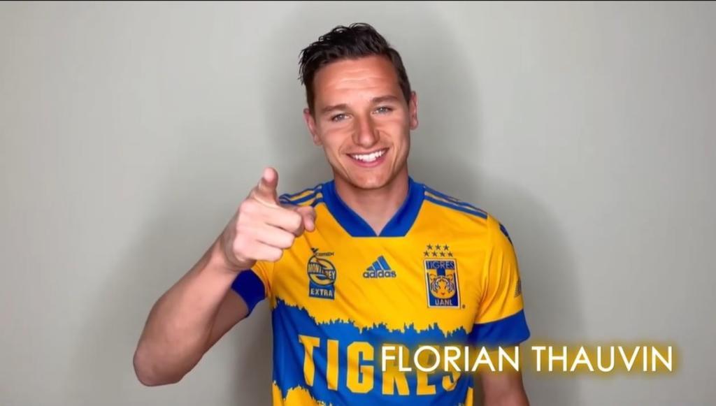 La llegada de Florian Thauvin a Tigres de la UNAL ya es oficial. (ESPECIAL)