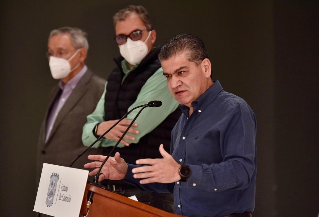 El gobernador del estado de Coahuila, Miguel Riquelme, dijo que el retorno a las actividades académicas será paulatino y destacó que su gobierno será muy precavido y además