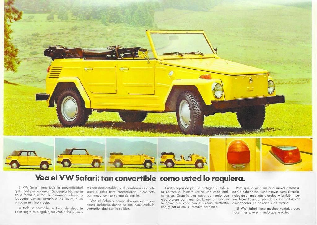 El concepto de este todoterreno económico nació en el esfuerzo de la Segunda Guerra Mundial como Kübelwagen.