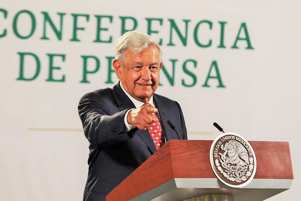 López Obrador señaló que el lunes la  mañanera  va a realizarse desde Torreón, donde también encabezará la reunión de seguridad diaria. (EL UNIVERSAL)