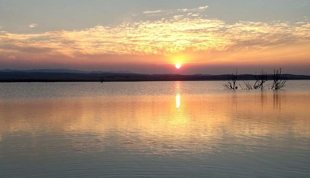 La presa San Gabriel, del municipio de Ocampo, reporta solo el 9.9 por ciento de su capacidad. (EL SIGLO DE TORREÓN)