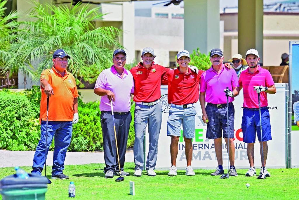 Fernando, Estrada, Daniel Vanososte, Gabriel Vanososte, José Luis Torre y Germán Villaseñor. (EL SIGLO DE TORREÓN / Jesús Galindo López)