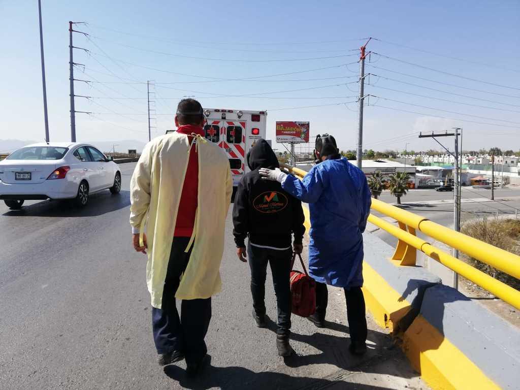 A través del Agrupamiento Violeta de la Policía Municipal de Saltillo, se han evitado cinco suicidios.