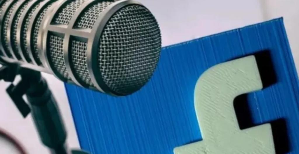 Facebook busca abrirse terreno dentro del mundo del podcast a través de salas de audio en vivo, similar a Clubhouse (ESPECIAL)