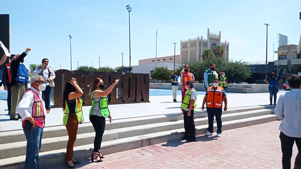 Se practicaron simulacros simultáneos en 40 inmuebles municipales, entre edificios, centros deportivos, centros culturales, bibliotecas y museos. (EL SIGLO DE TORREÓN)