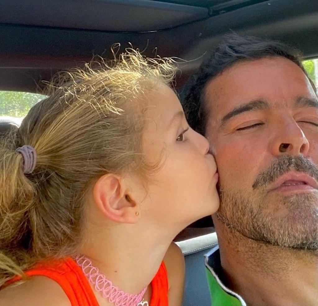 Redes. Durante el fin de semana, Pablo montero compartió un video con sus hijas tras pelea con su expareja.
