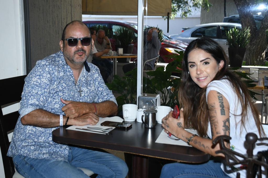 Jesús Barajas y Karla Marentis (EL SIGLO DE TORREÓN/FERNANDO COMPEÁN)