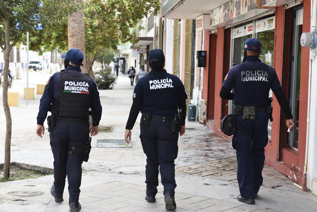 En el anteproyecto de Egresos para el próximo año en el Ayuntamiento se indican 680 plazas para policías municipales en Torreón. (EL SIGLO DE TORREÓN)