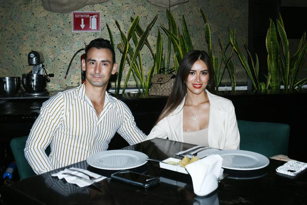 Alonzo Eli Calderón y Andrea Nájera Armijo (EL SIGLO DE TORREÓN/FERNANDO COMPEÁN)