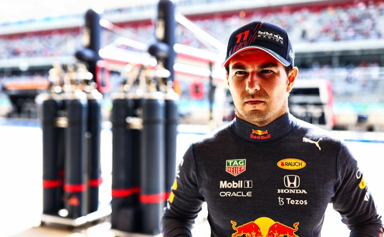 El piloto mexicano regresó al podio de la Fórmula Uno este domingo al llevarse el tercer lugar en el Gran Premio de Estados Unidos.